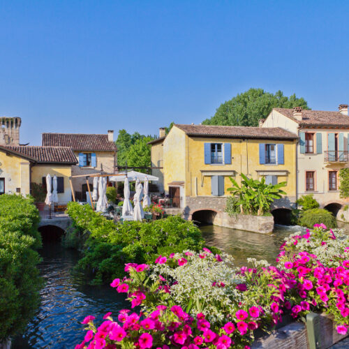 Photo of houses in Borghetto, Italy