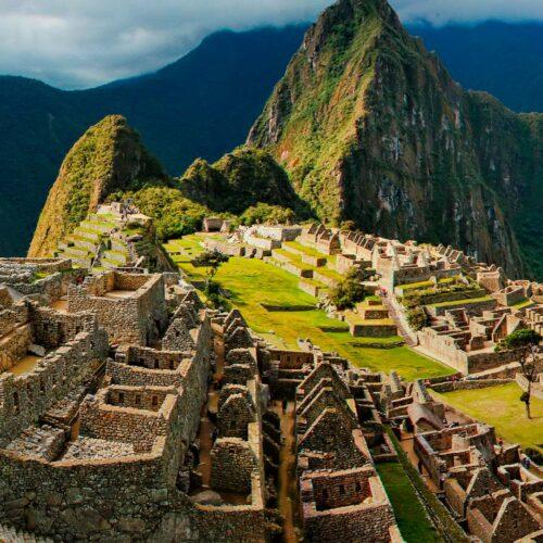 View of Machu Picchu