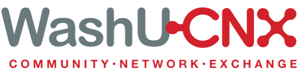 Logo for WashU CNX - Community Network Exchange